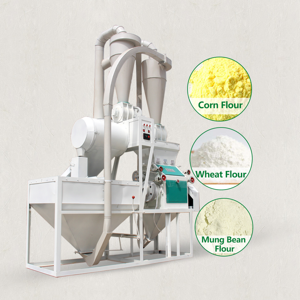 Corn rice wheat flour grain grinding mill milling machine