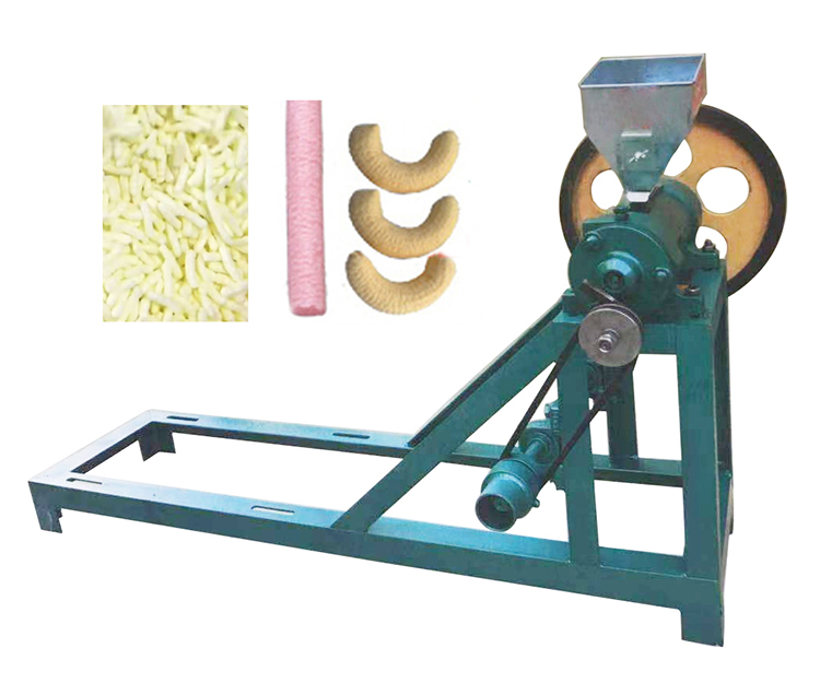 corn rice puffed food snack machine corn extruder machine