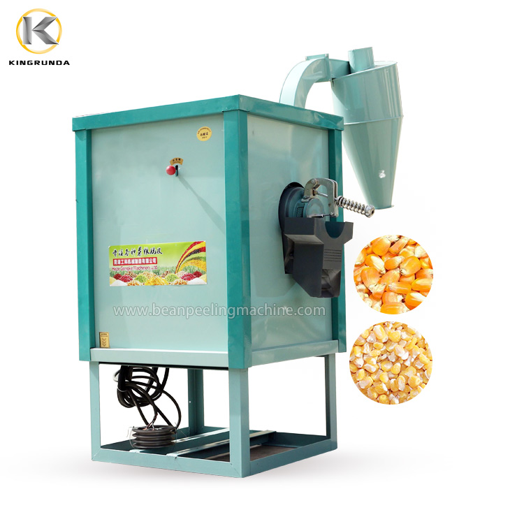 1TPH corn peeling peeler machine rice millet milling machine