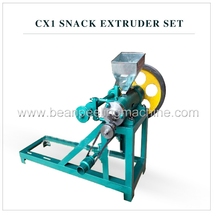 New tech corn rice snack food extruder manufacturer