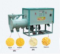 Sale maize peeling grinding machine small scale top grade maize flour milling plant