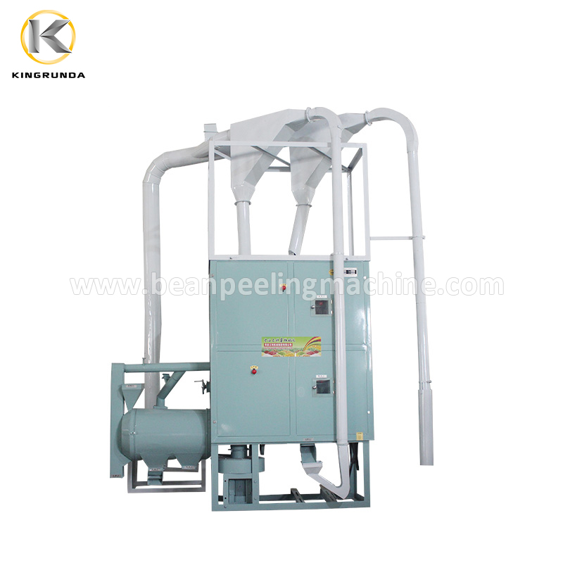10Ton/day corn rice wheat soyabean maize grits flour milling machine