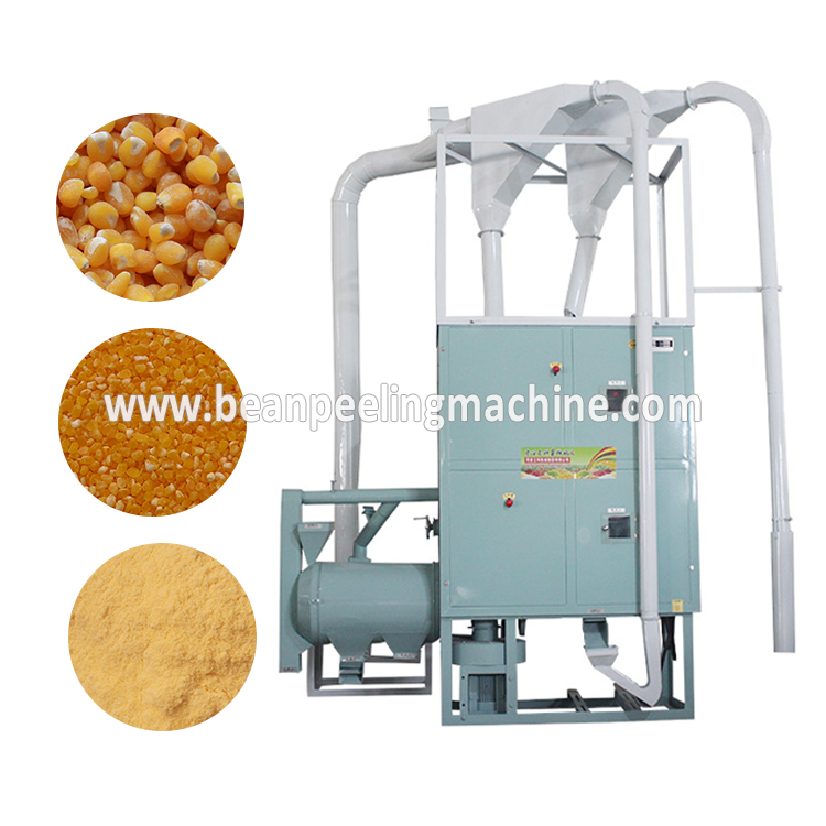 Automatic 8-10ton/day Per Day Corn Maize Milling Machine Mill Flour for Tanzania