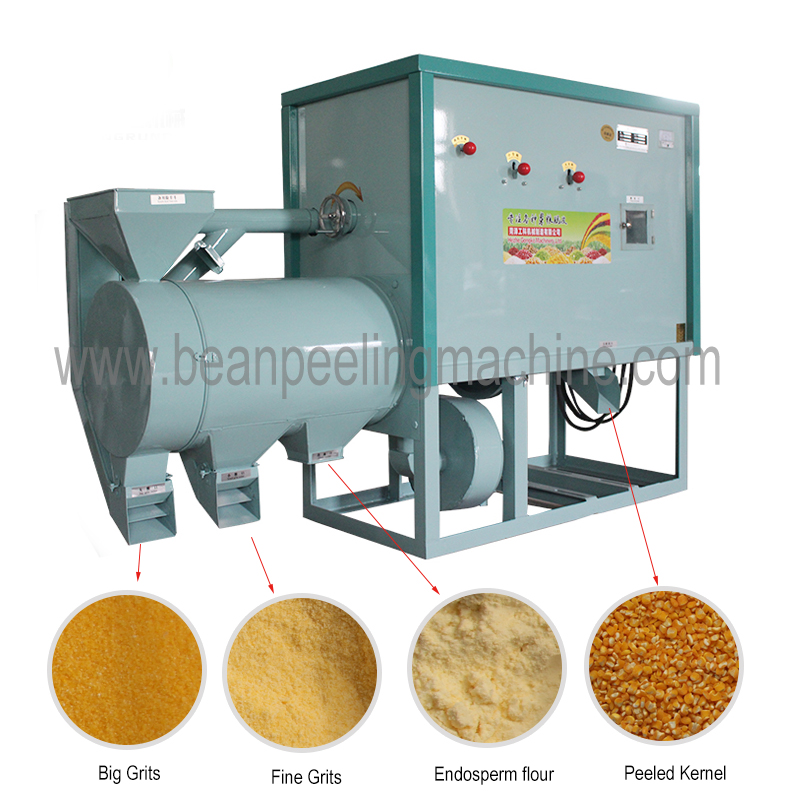 2019 Hot sell low loss corn maize grits machine in india
