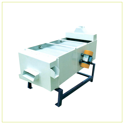 Vibrating grading screen rice milling machine