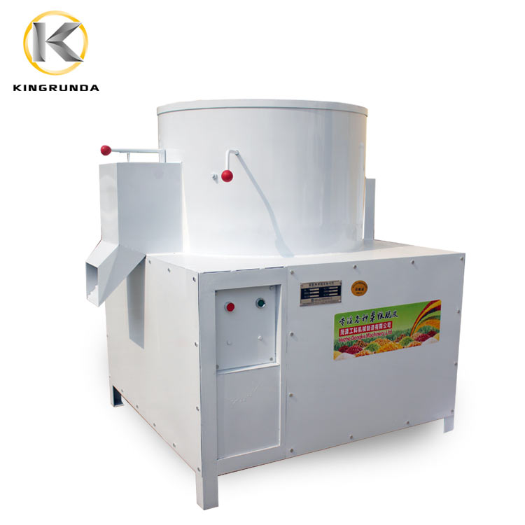 Automatic mini dal mill lentil huskless split bean peeling machine broad bean peeler machine