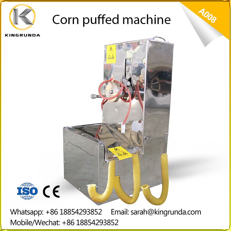 corn puff snack extruder,maize extruder machine,