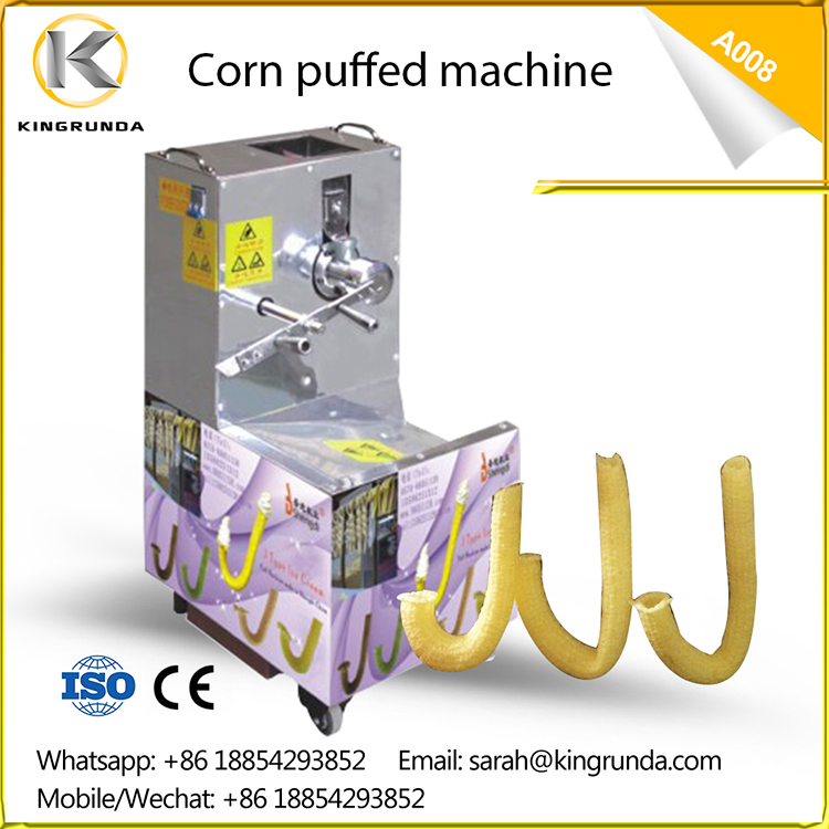 Puff Snack Machine Corn Snack Puffs Machine Core Filling Snack Bar Machine