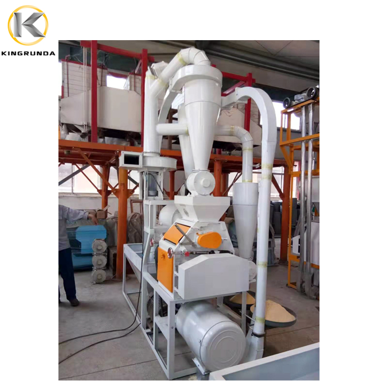 Factory Price Wheat Flour Rice Flour Milling Machine With Price For Making Corn Flour