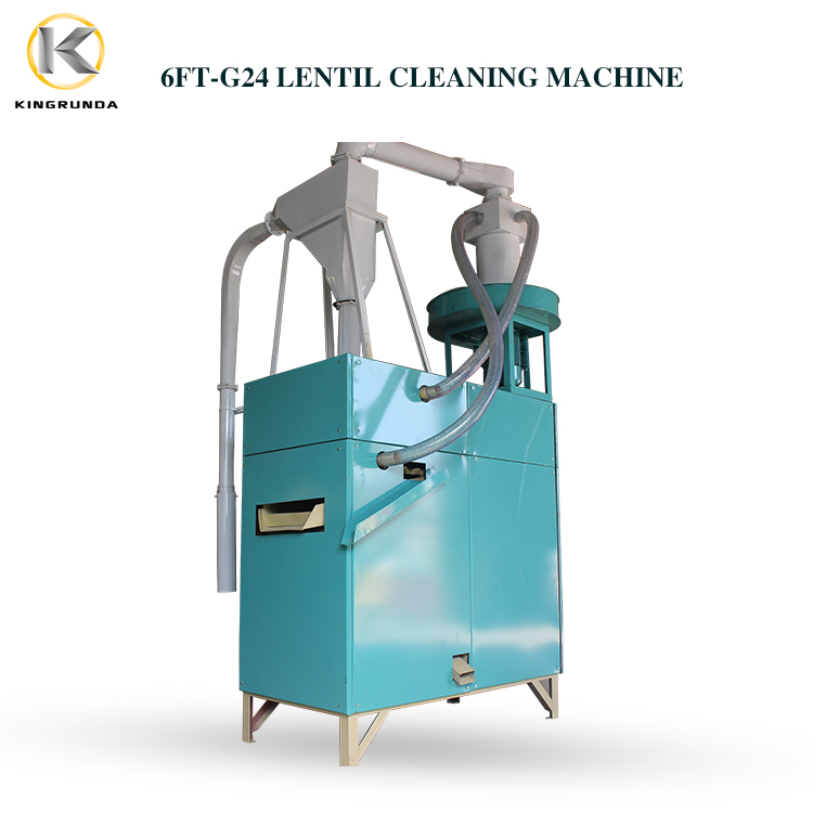 Lentil cleaning machine, lentil cleaner