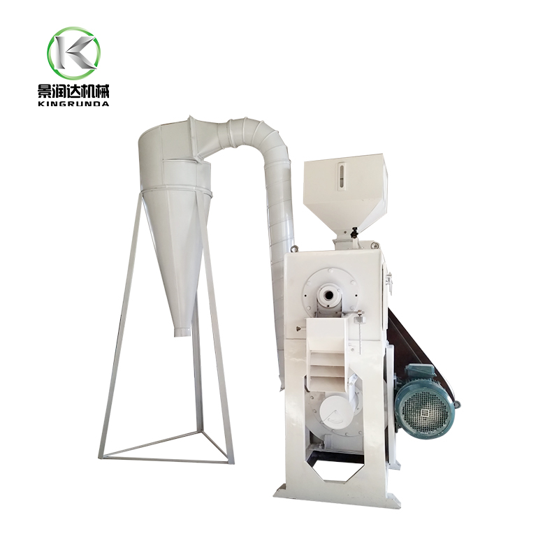 Chine low lose automatic wheat barley rice peeling machine