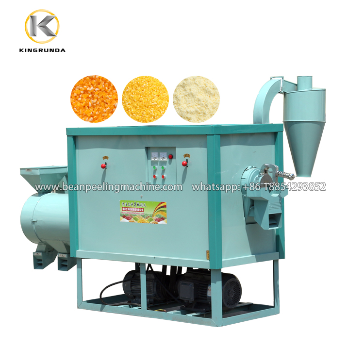 2020 Hot sell 500kg/h corn rice grits maize milling machine