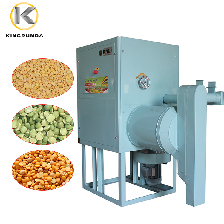 2020 Hot sell lentil splitting machine pea soyabean peeling and splitting machine